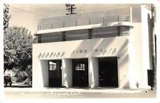 RPPC REDDING FIRE HOUSE California Fire Department 1945 Vintage Eastman Postcard