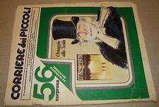 CORRIERE DEI PICCOLI 1978 NR.41 12 OTTOBRE CORRIERE DELLA SERA