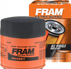 Engine Oil Filter Extra Guard Fram PH4967 Replace OEM For Lexus Toyota