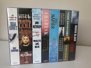 NEW Ultimate Killer 8 Thrillers Box Set Martina Cole, Patterson, Dean Koontz.