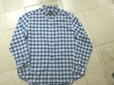 Gant Blue & white check Shirt long sleeve regular fit XL Extra Large