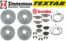 BMW F10 528i + 528i XDrive Zimmermann Brake Kit Rotors Pads Sensors