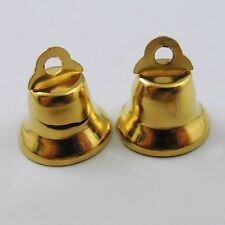 36845 Gold Tone Metal Craft Bell Christmas Jingle Bells Craft Decoration 100pcs