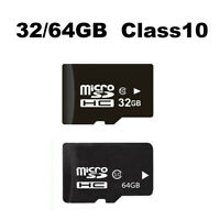 32/64GB Class10 C10 Mirco SDHC SD TF Memory Cards For HD 1080p Action Dash Cam