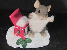 Charming Tails Cotton Claus Mouse Spec Ed 2000 98/222