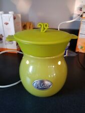 Scentsy Velata fondue warmer lime green