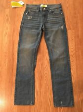 NWT!! Men's Adidas Straight Leg Jeans Sz 30 Inseam 33 Distressed