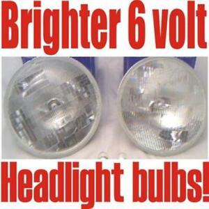 2 Halogen headlights Rambler,Hudson 1947-1949 1951 1952