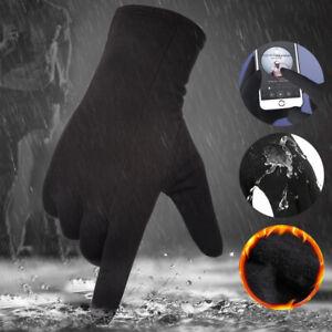 Winter Warm Outdoor Gloves Touch Screen Driving Waterproof Women Men Gloves AU