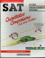 ITHistory (1984)  Software: SAT Score Quantitative Comp*  (Commodore 64) Hayden