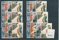 GB - COMMEMORATIVES - 1981 - W65 - SIX SETS - INT. YEAR OF THE  DISABLED  - USED
