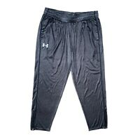 Under Armour Mens Tech Tapered Leg Pants Loose Heat Gear Gray Size XL 1271951
