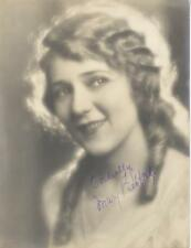 MARY PICKFORD-ORIGINAL AUTOGRAPHED PHOTO