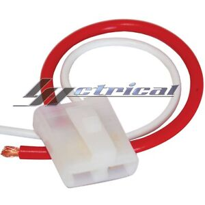 ALTERNATOR REPAIR PLUG HARNESS 2 WIRE PIN PIGTAIL CONNECTOR for CHEVY GM AMC GMC