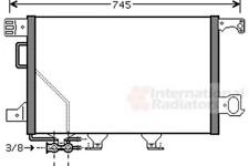 Kondensator, Klimaanlage für Klimaanlage VAN WEZEL 30005435