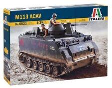 Vehículos militares de automodelismo y aeromodelismo Italeri plástico de escala 1:72