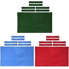 New Pool Table Felt 9' Billiard Table Cloth With Cloth Strip High Performance