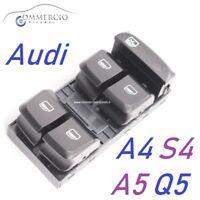 Pulsantiera Alzacristalli Audi A4 S4 dal 2007> NUOVA Interruttore alzavetro