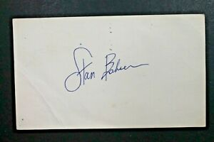 Stan Bahnsen Chicago White Sox Signed 3x6 GPC 1973 Postcard Autographed