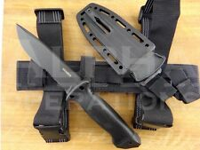Gerber LMF II Survival Knife Serrated with Leg Straps Infantry Black Made In USA