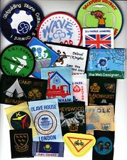 Girl Guide Badges x 20 (A)