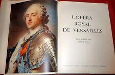 L'Opera Royal de Versailles, Limited Ed. Royal Opera Architecture & Preservation