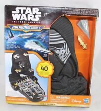 Star Wars MicroMachines Kylo Ren Vehicle Case Gold Series Imperial Cruiser Ships