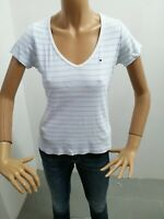 Maglia TOMMY HILFIGER Donna Taglia Size M T-shirt Woman Maglia Manica Corta 8022