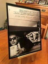 "Big 11X14 Framed Original Beastie Boys ""Ill Communication"" Lp Album Cd Promo Ad"