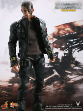 "Hot Toys 1/6 Terminator Salvation MmMS100 Marcus Wright 12"" Movie Action Figure"