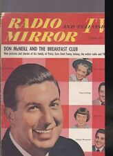 -RADIO & TV MIRROR--FE. 1951- VARIOUS STARSDAMAGED-MISSING PAGES-