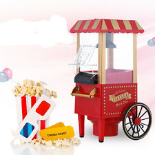 Mini-home Carriage Carts Popcorn Machine Making Delicious