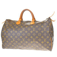Auth LOUIS VUITTON Speedy 40 Travel Hand Bag Monogram Leather M41522 34MF211