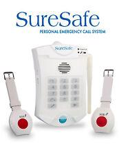 VAT EXEMPT: SureSafe Personal Alarm - Elderly Pendant Medical Alarm System
