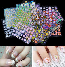 Shimmer Resin Nail Art Stickers