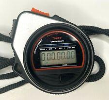 Vintage Timex Chronograph Start Stop Split Lap Watch Stopwatch Water Resistant