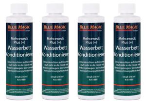 Blue Magic Wasserbett Konditionierer Conditioner 4 x 236 ml Wasserbett-Zubehör