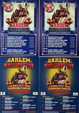 4 X HARLEM GLOBETROTTERS FLYERS - BASKETBALL
