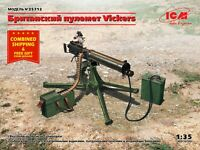 ICM 35712 - 1/35 - British Vickers Machine Gun (Scale model kit) UK