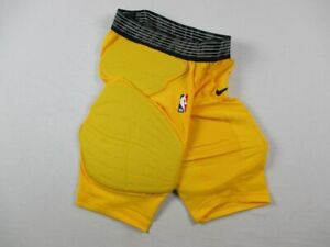 Nike Padded Compression Shorts Men's Yellow Poly NEW Multiple Sizes