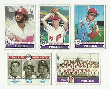 1979 TOPPS MAJOR LEAGUE BASEBALL CARDS – PHILADELPHIA PHILLIES - MLB