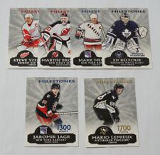 2004-05 Pacific Milestones Complete Hockey Set (1-6) Jagr Lemieux