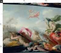 Love Painting Classical Gods Spoonflower Fabric by the Yard