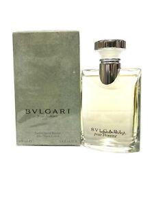 BVLGARI pour Homme 3.4.oz 100ml After Shave Lotion Rare VINTAGE (BD37