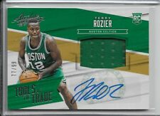 2015-16 Terry Rozier Panini Absolute Rookie TOTT Auto RC /99