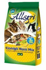 conigli nani mix in confezione da 2 KG Allegrì mangime completo per conigli nani