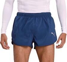 Puma Ignite Split Mens Running Shorts - Blue