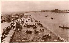 Boating & Paddling Pool Southport unused RP old pc Valentines