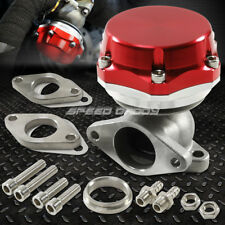 35MM/38MM TURBO CHARGER MANIFOLD RED 8 PSI COMPACT 2-BOLT EXTERNAL WASTEGATE KIT