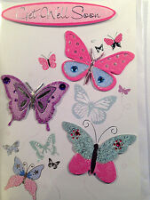Get Well Soon ~ 3D Butterfly Greetings Card ~ FREE Delivery (277)
